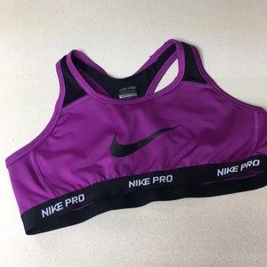 Nike XL Dri Fit Sports Bra